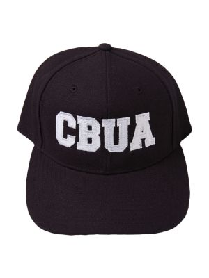 CBUA BLACK 8-Stitch Base Hat