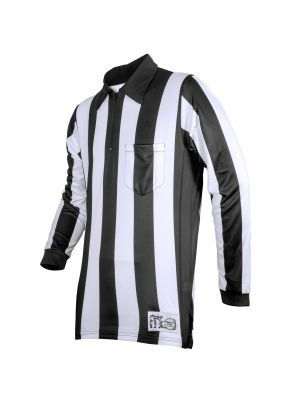 "Honig's 2.25"" Striped Ultra Tech Long Sleeve Football Shirt Without Flag"
