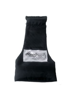 Black - Nylon Stay-Put Single Bean Bag
