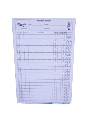 Football Penalty Report Form  *