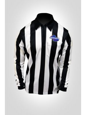 "Georgia High School Association (GHSA) 2"" Long Sleeve Ultra Tech Football & Lacrosse Shirt With Flag"