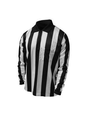 """Honig's 2"""" Striped UltraTech Long Sleeve Football Shirt Without Flag and  Placket"""