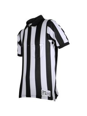 "Honig's 2"" Striped Ultra Tech Short Sleeve Football Shirt Without Flag and  Placket"
