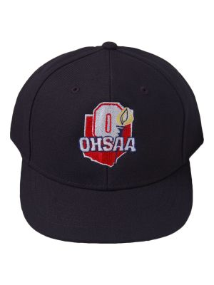 OHSAA 4-Stitch Hat - Navy - Wool or Mesh