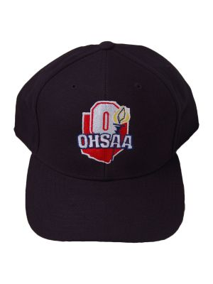 OHSAA 8-Stitch Hat - Navy - Wool or Mesh