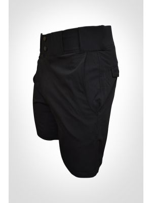 Honig's Black Shorts With Belt Loops