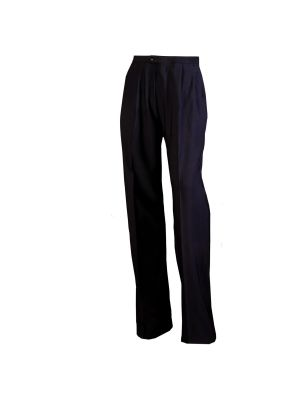 Women's 4-Way Stretch Pleated Beltless Slack