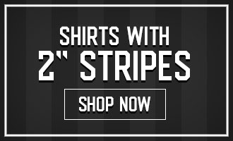 Shirts with 2 inch stripes