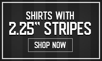 Shirts with 2.25 inch stripes